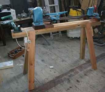 lathe bench design